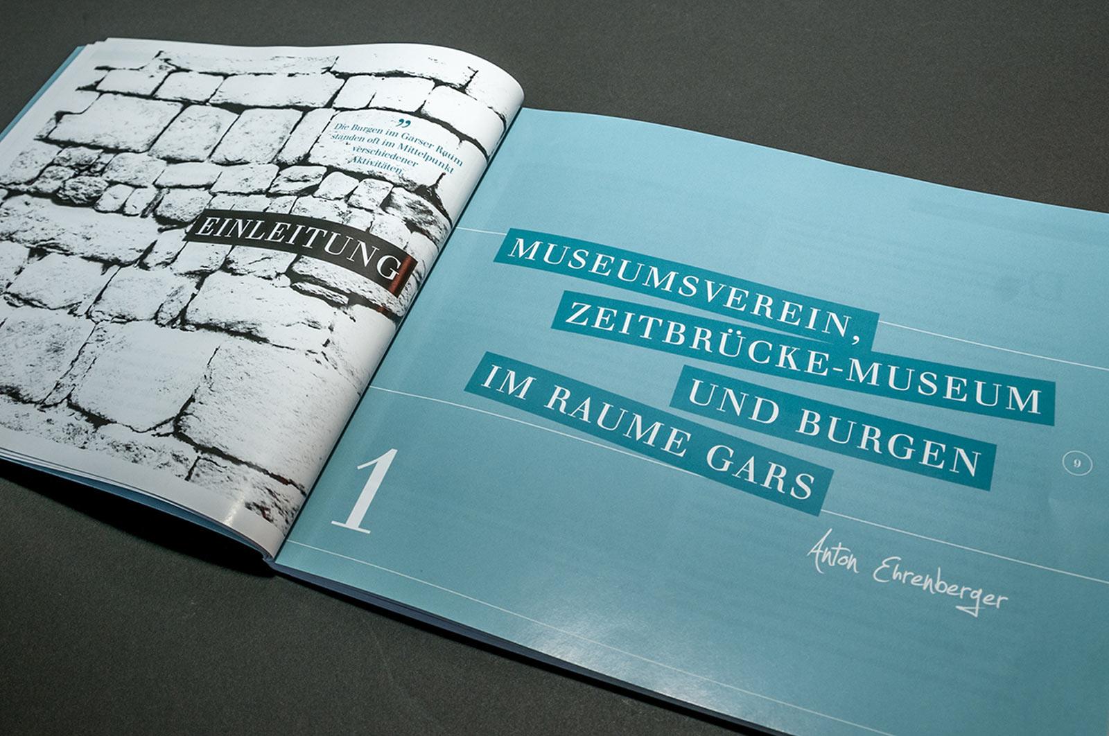 Garser Burgen – Buch. © Sabrina Ullreich