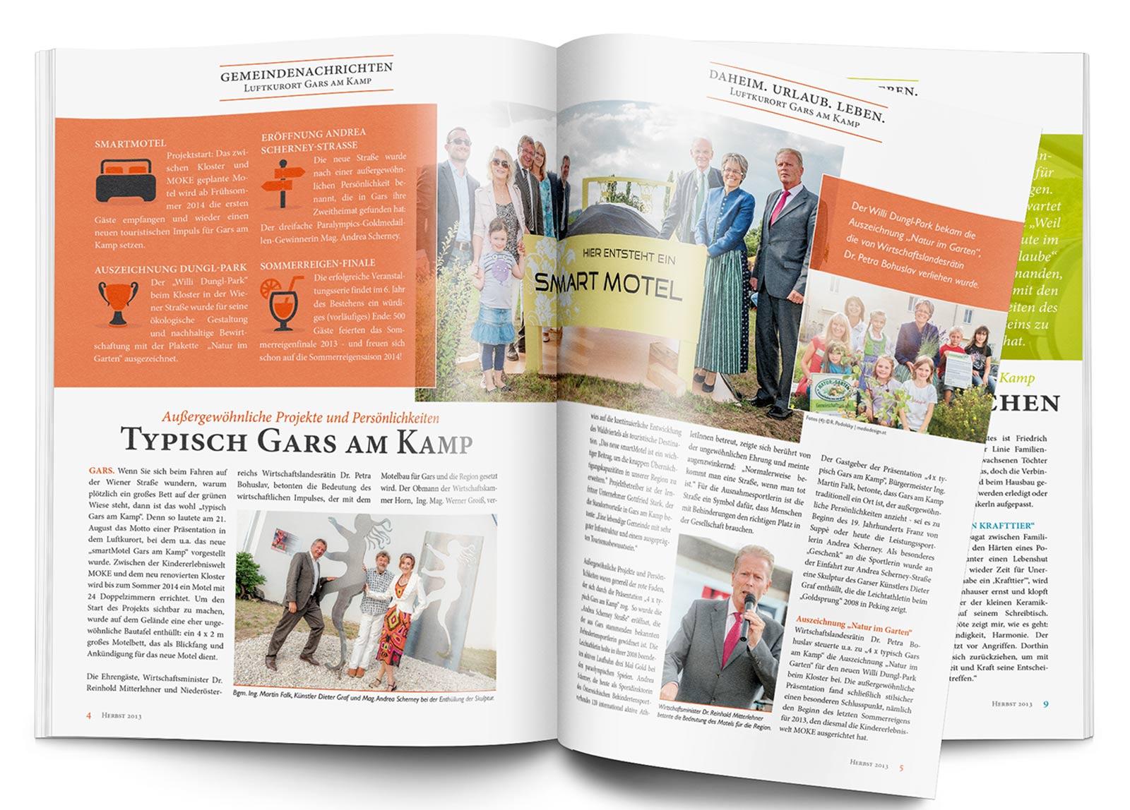 Gemeindenachrichten, Mock Up: © graphicburger.com