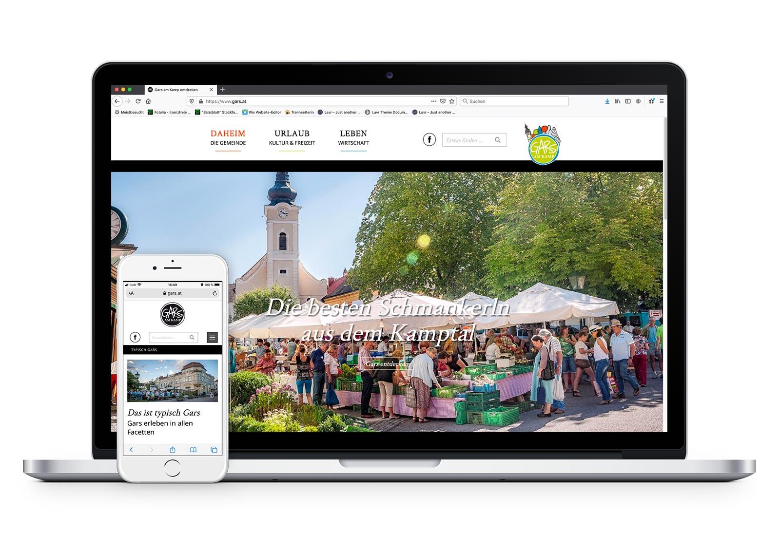 Website. Mock Up: © Pixeden.com